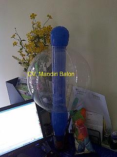 Balon Bulat Bening