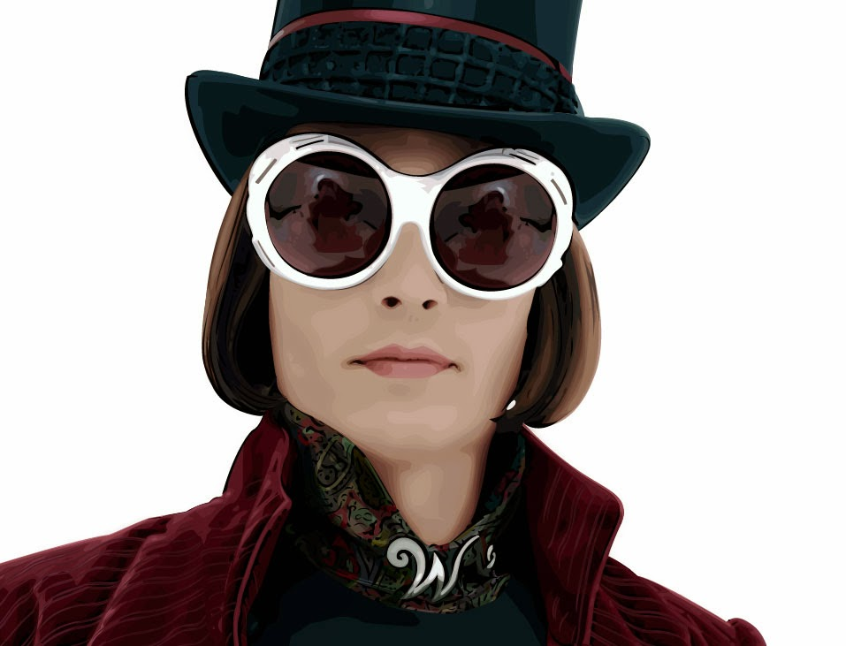 Gafas Willy Wonka Fabrica de Chocolate