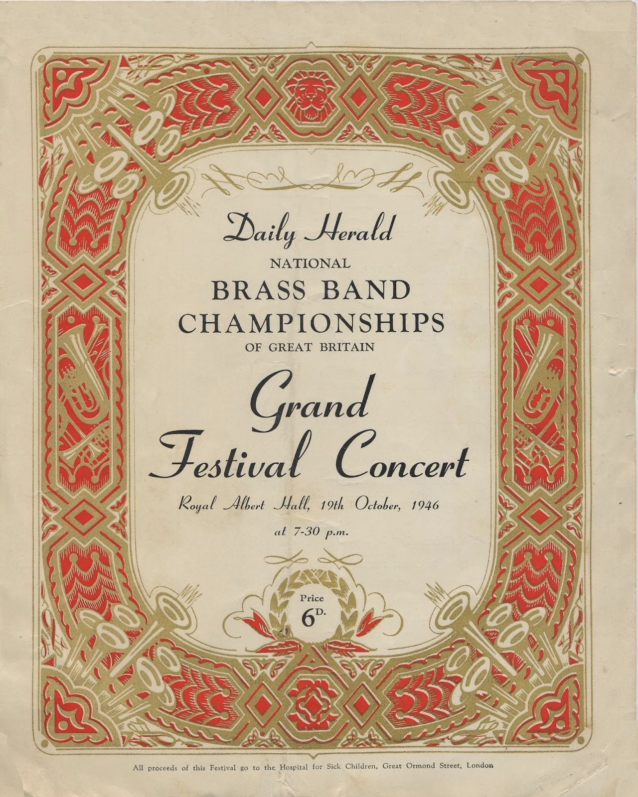 Munn And Felton's Works Band - Brass Band Concert