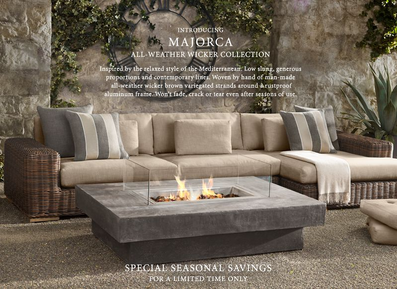 Rh Outdoor Furniture Brad Ascalon Launches The Ciel Collection For