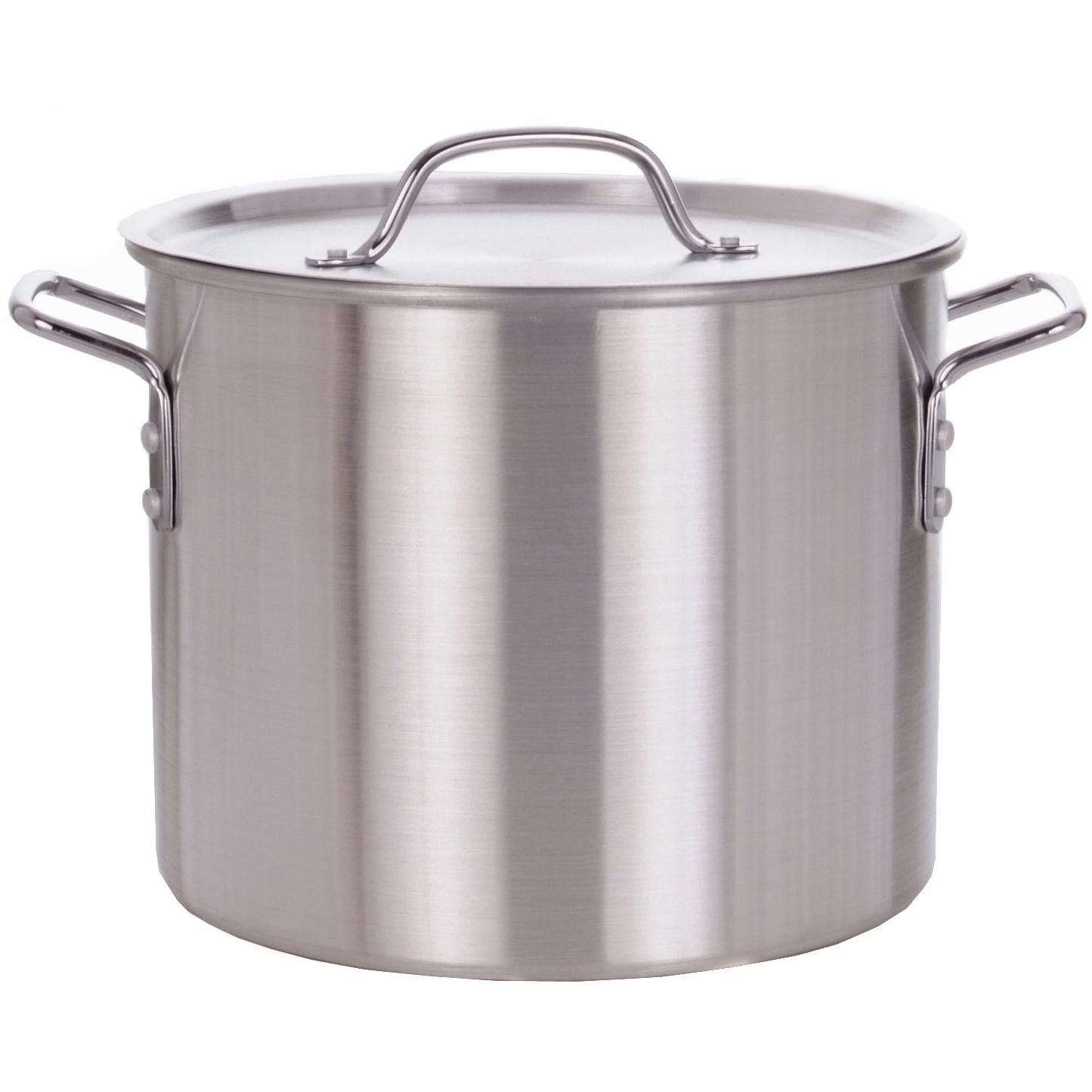 Stainless steel cooking pots images for Cuisine aluminium