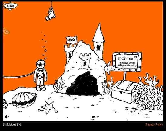 Emobious - Website design using drawings and illustration