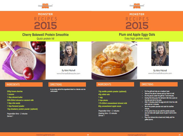 Kickstart 2015 ebook recipes from The Road to Less Cake
