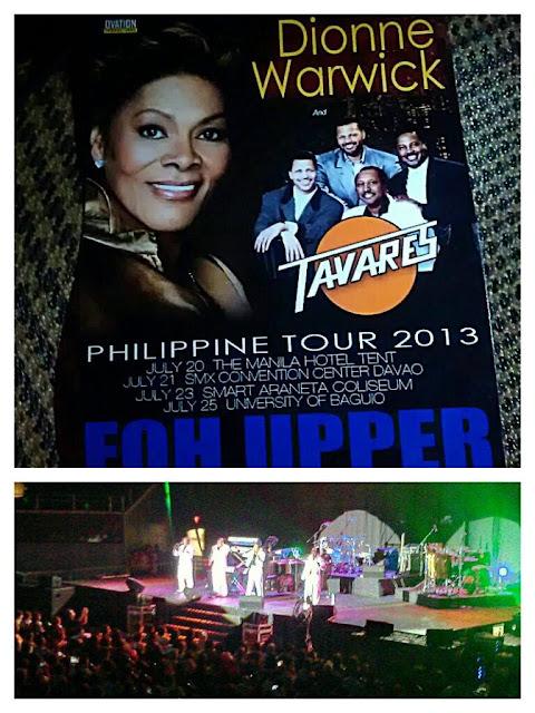 Dionne Warwick Phil Tour 2013