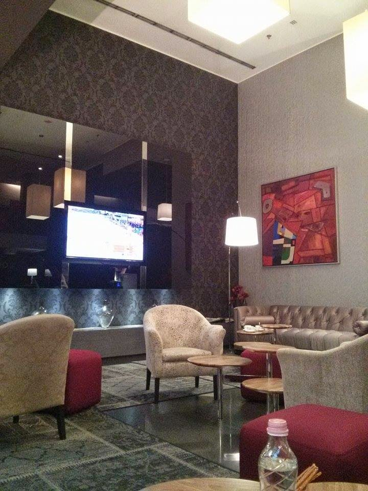 Hotel Palazzo Zichy Lounge