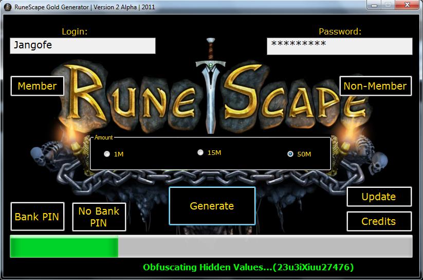 Runescape gold free