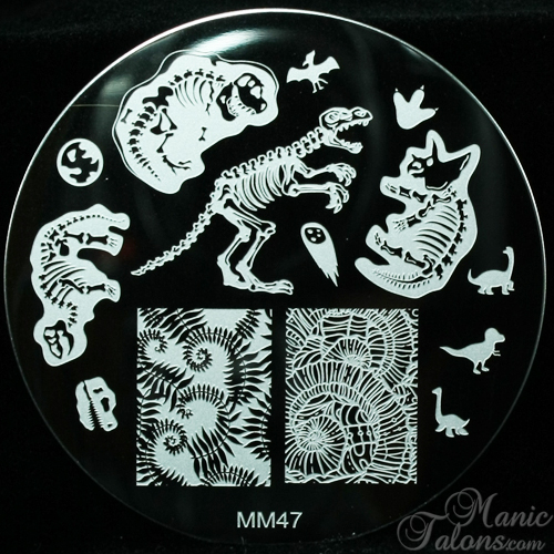 Messy Mansion MM47 - the Dinosaur Plate