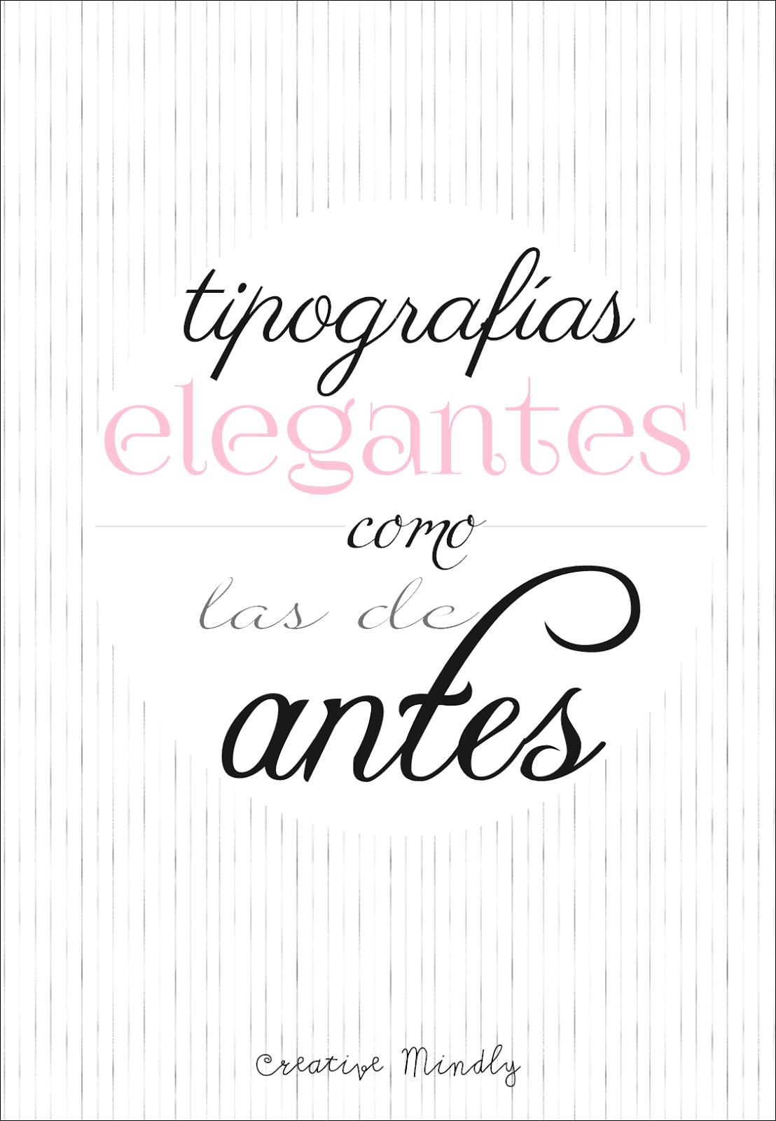tipografías fuentes de texto bonitas