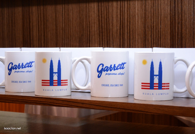 Special Garrett Mugs at RM26 each