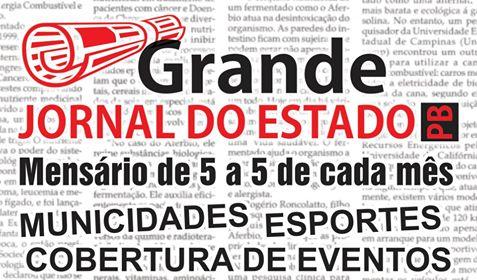 BLOG GRANDE JORNAL DO ESTADO PB 14 ANOS NO AR