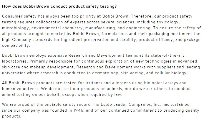 Animal testing on cosmetics is mandatory in some markets, such as China. That means that international brands selling cosmetics in ...