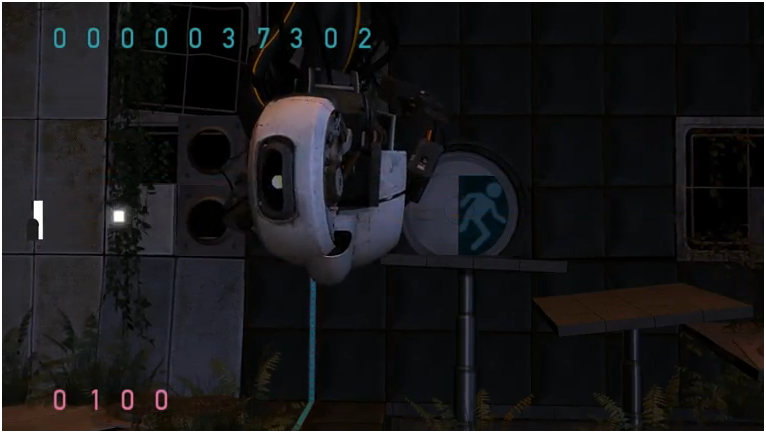 portal 2 glados wallpaper. Portal in The Ball.