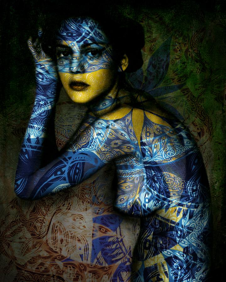 красивые фото девушек бодиарт-пл1