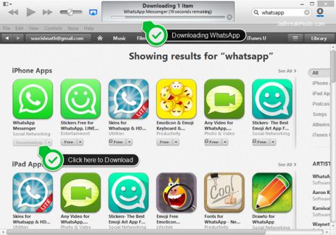 Cara Download WhatsApp untuk iPad 3
