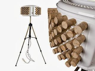 10 Ideas de Lamparas Recicladas, Accesorios de Iluminacion