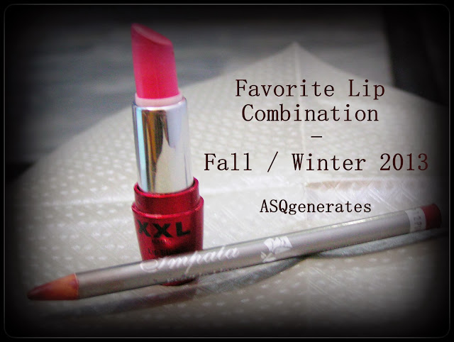 Favorite Lip Combination - Fall/Winter 2013  cover photo
