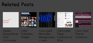 Related Post With Thumbnails Untuk Blogger
