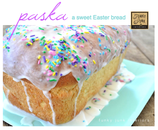 Our Easter tradition: paska! What's yours? - Funky Junk InteriorsFunky ...