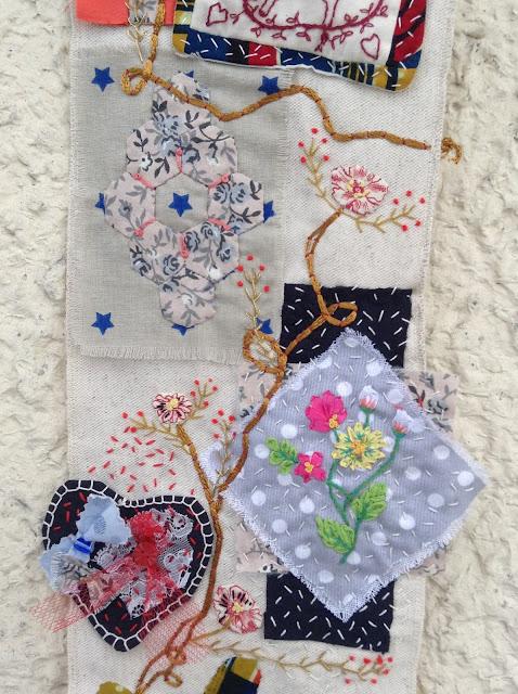 patchwork quiltmania en attendant Noël