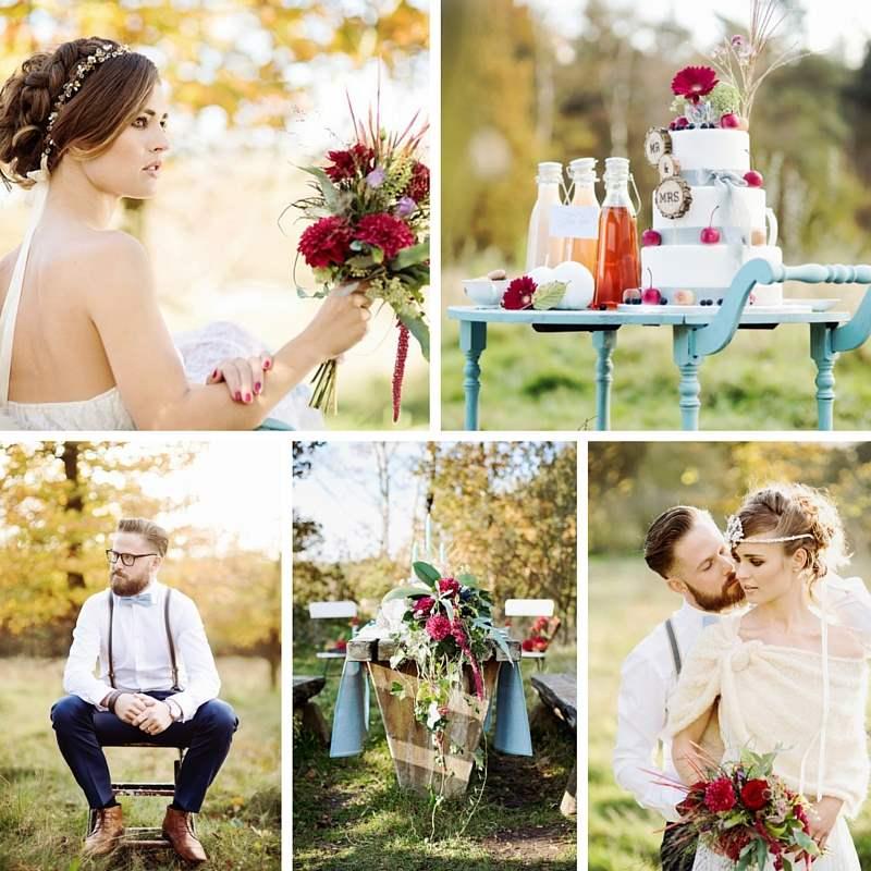 Svatby Barvy Kolaze Podzimni Svatba