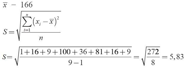 , Contoh Soal, Data Tunggal Kelompok, Jawaban, Statistik, Matematika