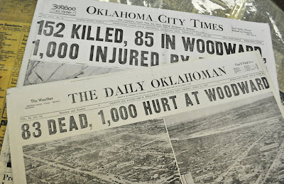 woodward ok newspaper