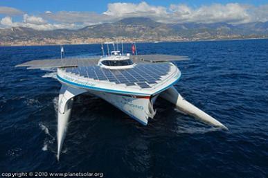Maior Barco Solar do Mundo