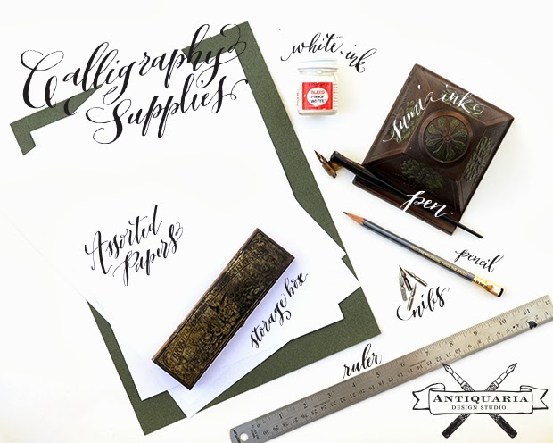 Antiquaria Calligraphy Tutorial Getting Started