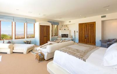 Master bedroom in patricia gucci s california desert estate