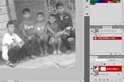 Cara Membuat Photo Black And White Terpilih