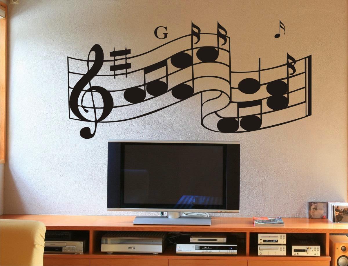 Virginia Olliveira A Beleza Dos Adesivos Em Casa -> Adesivo Decorativo Na Parede De Tv