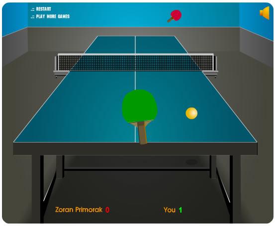 Ball Game : Table Tennis