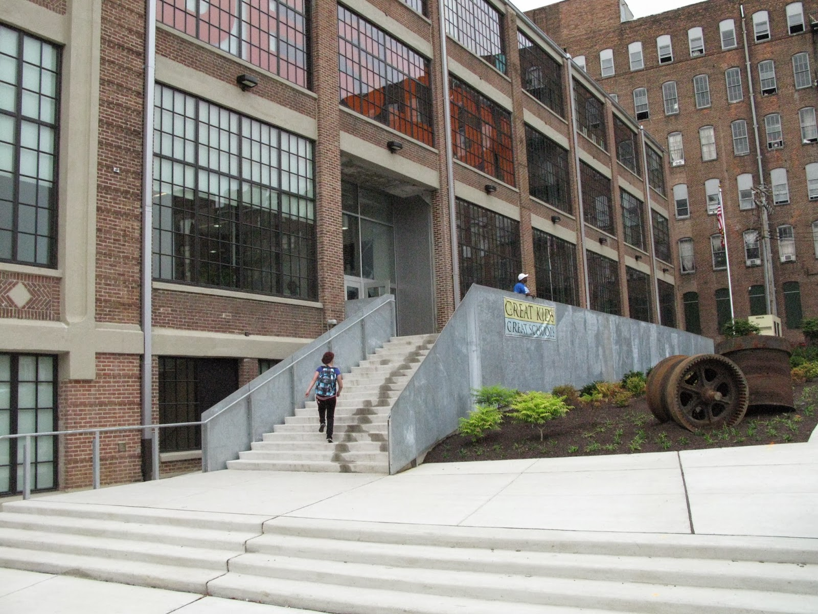 Superieur Even Outside Stairs Make A Reappearance As Long As An Equally Direct  Accessible Route Leads To The Same Entrance. Design School, Baltimore,  Architect: Ziger ...