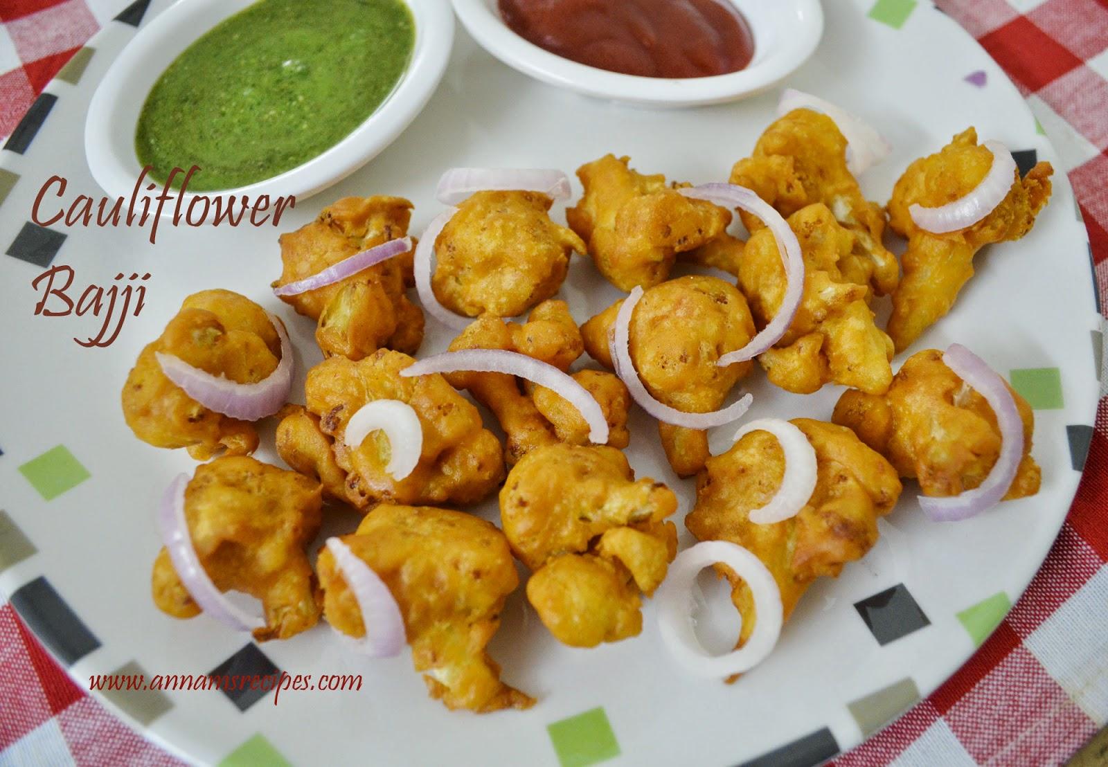 Cauliflower Bajji