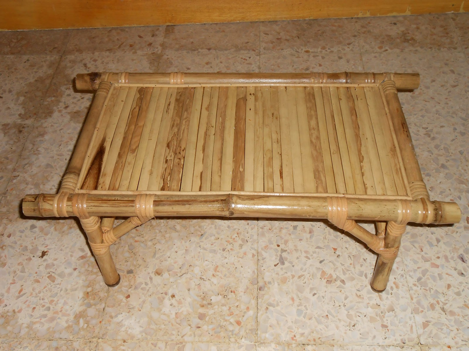 refurnish diy rattan bamboo furniture bamboo tea table