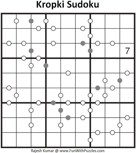 Kropki Sudoku (Daily Sudoku League #127)