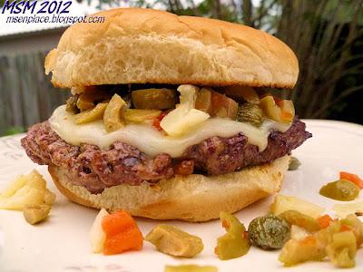 Muffuletta Burgers