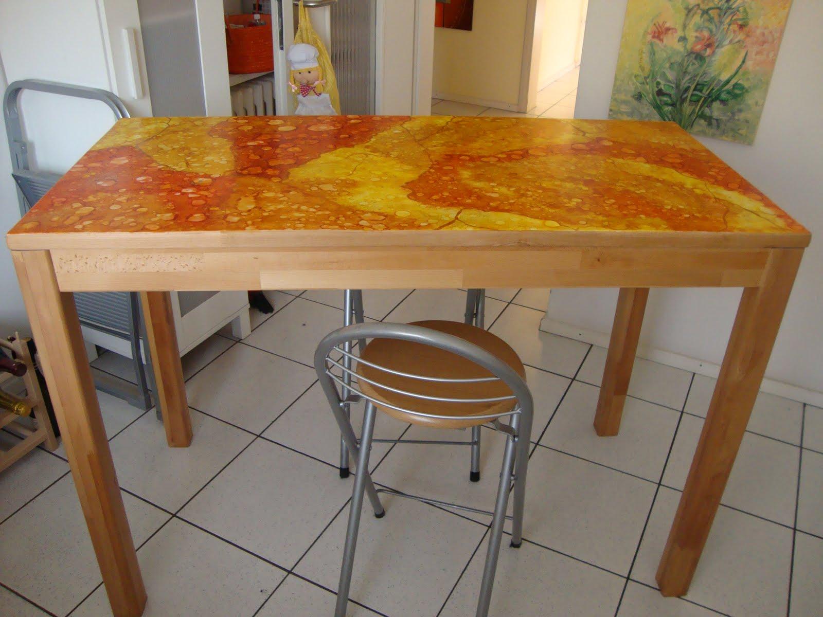 Arte eny il mio mondo creativo - Tavolo bar cucina ...