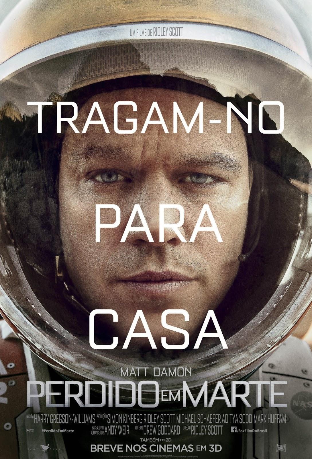 Perdido Em Marte – Dublado (2015)