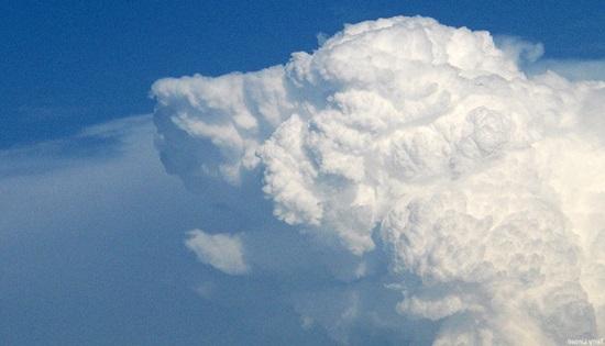 Nuvem em formato de cão