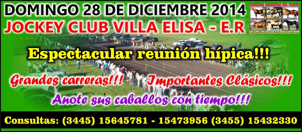 VILLA ELISA - 28.12.2014