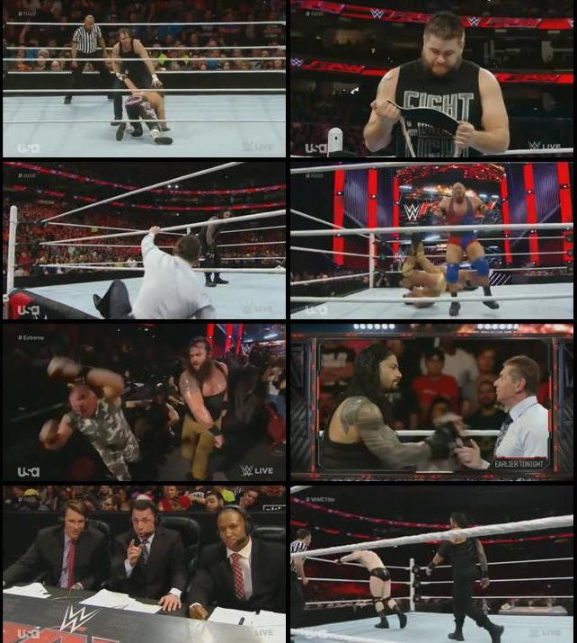 WWE Monday Night Raw 14 Dec 2015 HDTV 480p