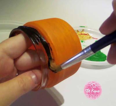 manualidades con niños en halloween