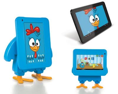 Tablet da TecToy em formato da Galinha Pintadinha