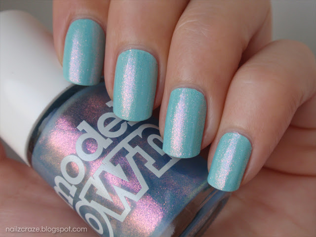 Models Own Indian Ocean over Essie Mint Candy Apple