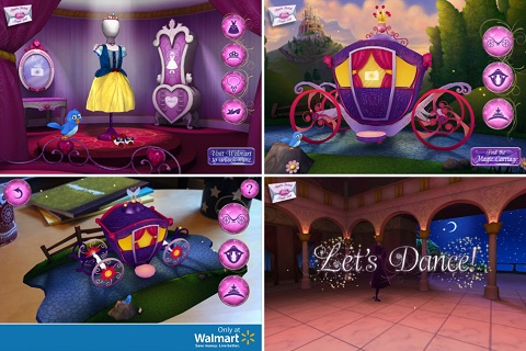 Disney Princess Augmented Reality App