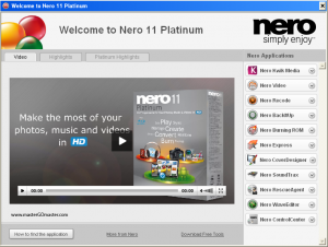 Free Download Nero 11 Platinum Full Version Terbaru 2012