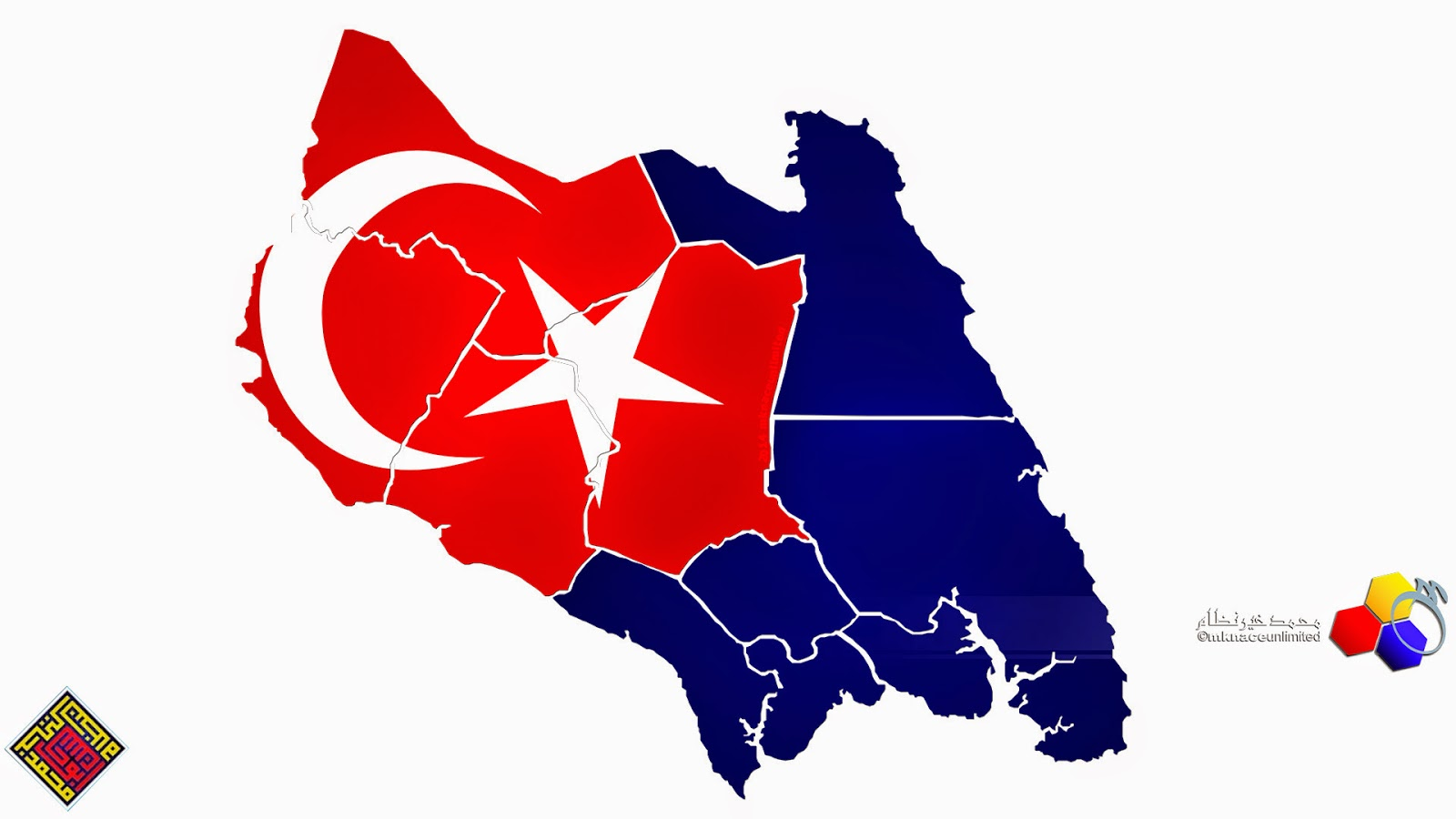 Johor Map with flag masking | mknace unlimited™|The ...
