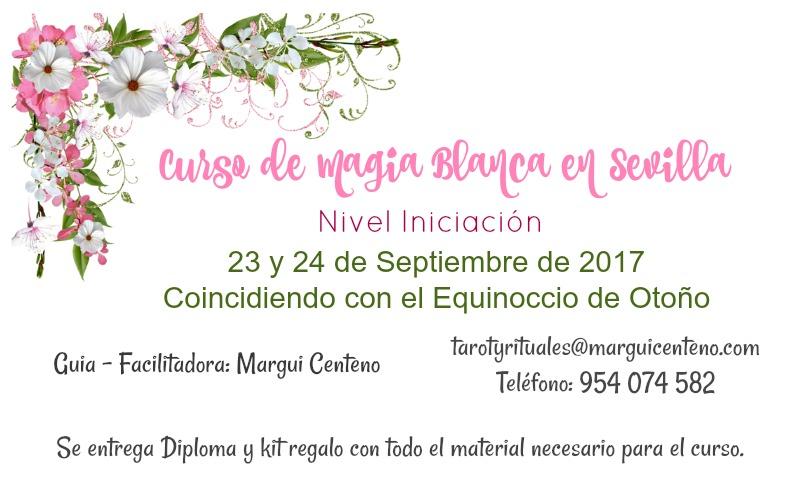 Curso e Magia Blanca en Sevilla