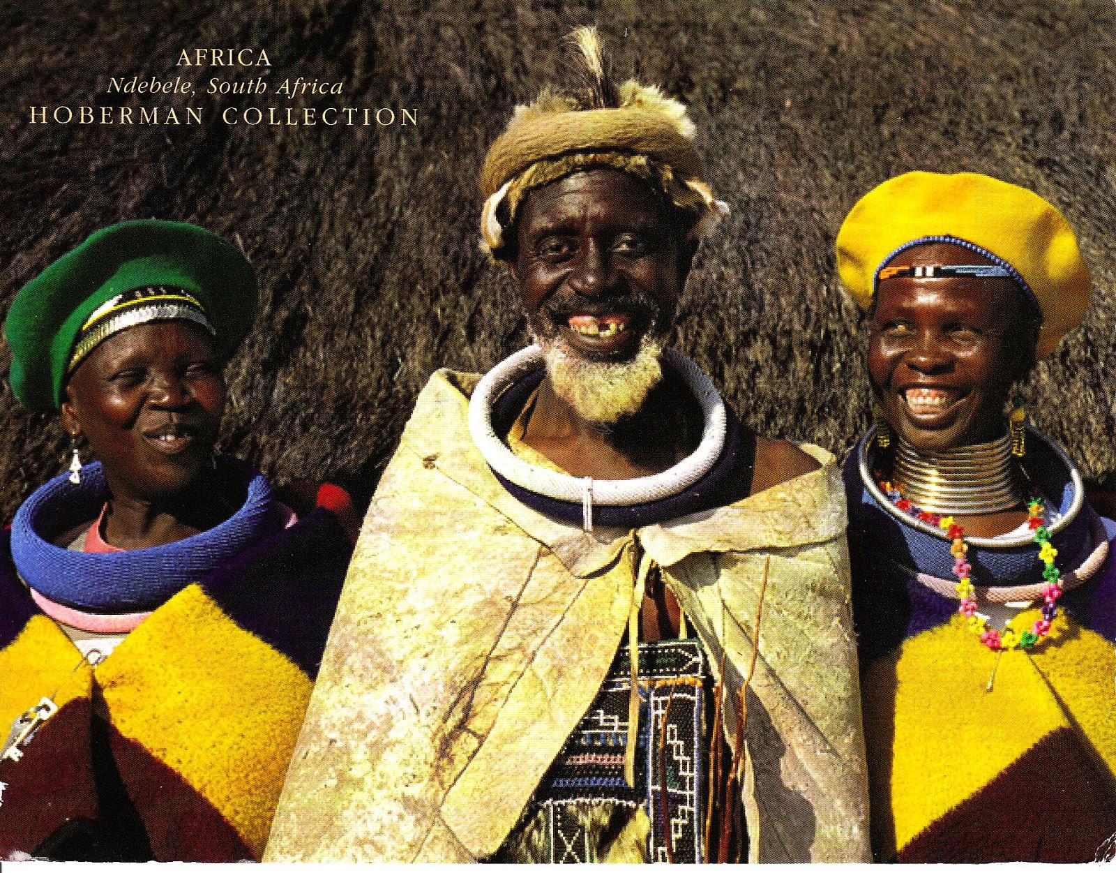 (编辑)南非的民族族群1 - 六一儿童 - 译海拾蚌